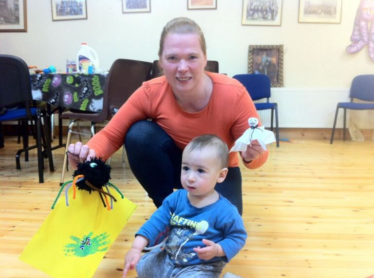 baby and toddler group arta and emmet spider